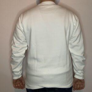 Felpa Skeleton Skater Uomo Bianco 2