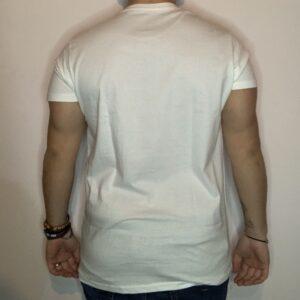 T-shirt Aloha Style Logo Uomo Bianco 2