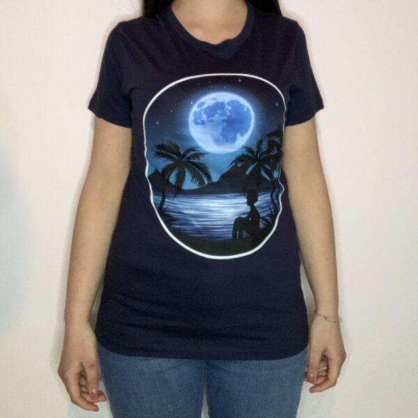 T-shirt Night Sea Blu Navy 1