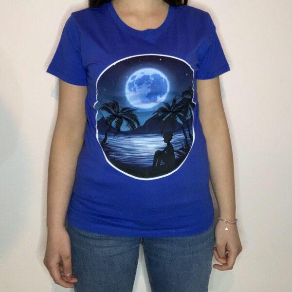 T-shirt Night Sea Blu Royal 1