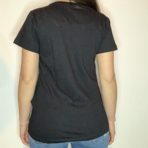 T-shirt Night Sea Donna Nero 2