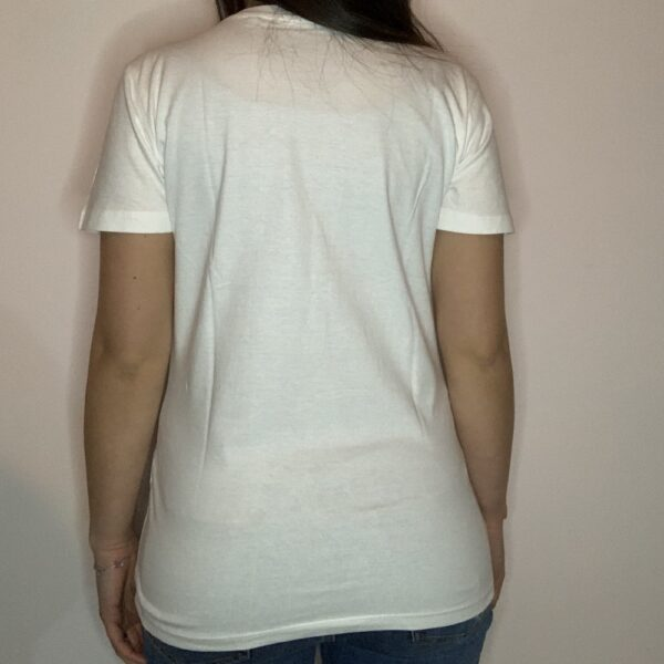 T-shirt Skeleton Skater Donna Bianco 2